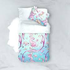 mermaid crib bedding mermaid crib bedding set siren of the sea watercolor mermaid crib and toddler