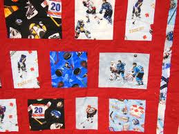 Hockey Quilt | Studio Q Longarm Quilting & Hockey Detail 2 Adamdwight.com