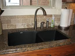 Granite Kitchen Sinks Pros And Cons Black Drop In Kitchen Sink By Mcclurg Remodeling Construction