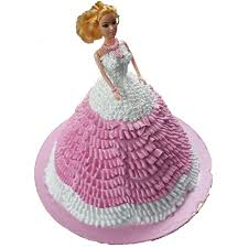 Princess Barbie Cake Online Bakery Surat Cake Shop Surat And