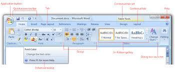 Word Ribbon Ribbons Win32 Apps Microsoft Docs