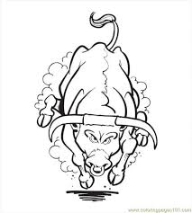 Small Picture Free Printable Coloring Page Bull Coloring Pages04 Mammals gt