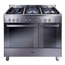 Gas Range With Gas Oven Rc9322ss 90cm Twin Cavity Gas Range Cooker Cda Appliances