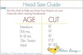 Pin On Head Sizing Chart