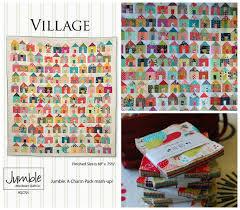 Pat Sloan's Blog: 2016/17 Village Sew Along & Pat Sloan Little Village pattern Adamdwight.com