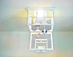 birdcage chandelier decor copper diy chandeliers bird cage home improvement winning before after delightful volieres