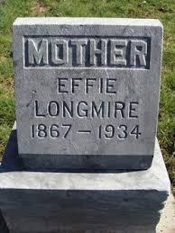 Effie Robbins Longmire (1867-1934) - Find A Grave Memorial