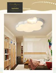 childrens room lighting. LED Cloud Kids Room Lighting Children Ceiling Lamp Baby Light With Dimming For Boys Girls Childrens