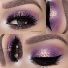 you need to see our collection of purple smokey eye makeup looks recreate these looks and you are ready to shine bright and be the star of any party