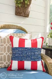 this is also a 4th of july decorating idea simple from worthing court blog