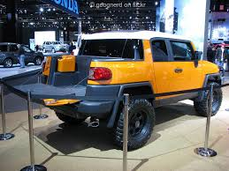 Toyota FJ Cruiser convertible | Not much attention was recei… | Flickr
