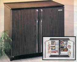 compact side by side refrigerator.  Side 1981 Compact RefrigeratorFreezer To Side By Refrigerator A
