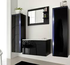 5tlg Badmöbel Set 100cm Led Badezimmermöbel Waschbecken Spiegel In