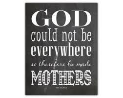 quote print mother – Etsy via Relatably.com