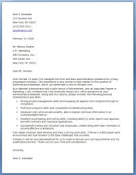 Administrativessistant Cover Letter Example Samples Examplesuk