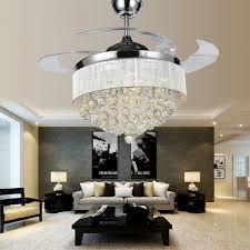 modern ceiling fan chandelier combo