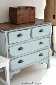 Distressed Wood Furniture Vintage Distressed Dresser By