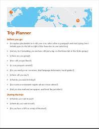 Overseas Trip Planner Trip Planner