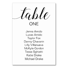 How To Do A Wedding Seating Chart Elegant Wedding Seating Chart Cards