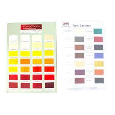 Oil Paint Colour Chart Michael Harding Handmade Colour Chart