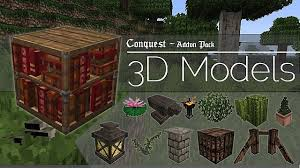 3d texture packs 3d models for conquest resource pack 1 11 2 1 10 2 file minecraft com