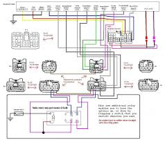 integration harness and radio shack relay for audio connection car car radio wiring harness diagram integration harness and radio shack relay for audio connection car stereo wiring diagram