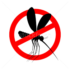 stop mosquito red prohibition sign ban insects stock photo popaukropa