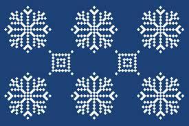Snow Flake Pattern Interesting Ideas