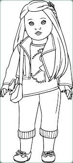 Doll Coloring Pages To Print Girl Doll Coloring Pictures Coloring