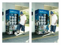 Outdoor Vending Machine Amazing Nike Football VENDING MACHINE Outdoor Advert By Kinetic Singapore
