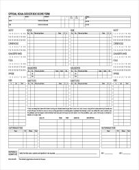 14 Scoreboard Templates Samples Doc Pdf Excel Free