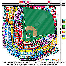 2 Cubs Vs Cardinals Tickets 7 20 Home Plate Ll Reserved