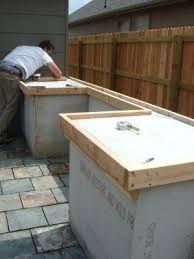 how to make an outdoor concrete countertop how to concrete outdoor concrete countertop mix outdoor kitchen