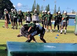 Football Team Depth Charts Hawaii Arizona Release Depth Charts For Football Opener