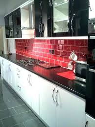 kitchen red and black red and white kitchens red and white kitchen kitchen red black tiles