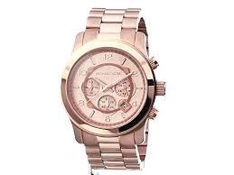 amazon com michael kors men s runway rose gold tone watch mk8096 michael kors men s runway rose gold tone watch mk8096