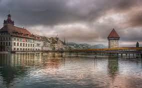 Luzern Lake Lucerne Village Of ...