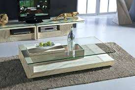 glass center table living room table material stone glass center table design for living room