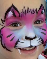 i m about to flood pintrest with face painting photos some from the internet some of my own fair warning pink kitty cat
