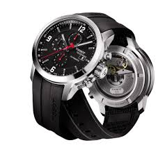 tissot prc 200 automatic chronograph t0554271705700 image watch tissot prc 200 automatic chronograph watch black dial and 316l stainless steel bracelet