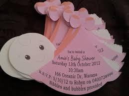 homemade baby shower invitations for girls ba shower invitations for girls ba shower invitations