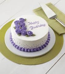 Vivid Violet Roses Cake Birthday Cake Wilton Cakes Wilton