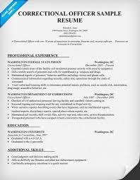 Correctional Officer Resume Sample - Law (resumecompanion.com)