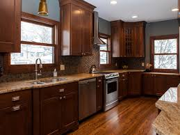 Mission Oak Kitchen Cabinets Arts And Crafts Oak Kitchen Cabinets