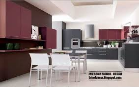 interior design kitchens 2014 Purple Kitchen interior design 2014,Contemporary  kitchen design