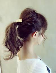 ポニーテールアレンジnbー062 ヘアカタログ髪型ヘアスタイル