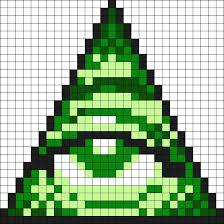 D Link Minecraft Pixel Art Templates Template Strand Definition