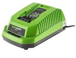Купить <b>Зарядное устройство greenworks G40C</b> 2904607 40 В на ...