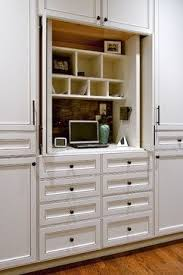 hidden desk furniture. hidden desk in built ins kitchen with bold sophistication eclectic atlanta furniture
