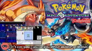 Pokemon Mega Adventure - Gameplay - YouTube